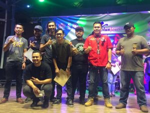 TUARAN JUARA PENTAS BATTLE OF THE BAND DI KENINGAU