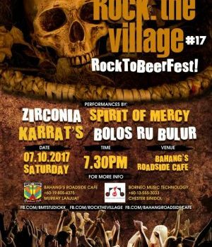 ROCK THE VILLAGE EDISI KE 17 TAMPILKAN BAND BARU