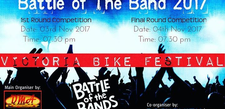 BATTLE OF THE BAND SEMPENA LABUAN BIKE FEST 2017