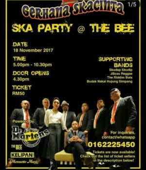 SKA PARTY AT THE BEE