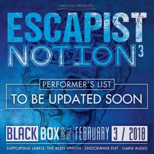 ESCAPIST NATION VOLUME 3 PADA FEBUARY 2018