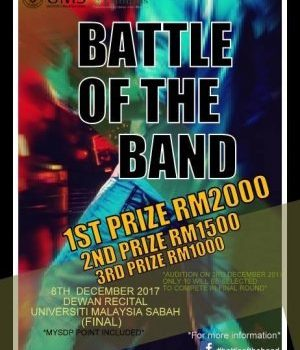BATTLE OF THE BAND UMS, SABAH