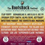 THE ROOTS ROCK FESTIVAL 2018, BUTTERWORTH PENANG