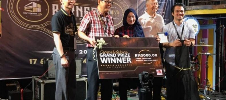 SUSIANA & MARK JUARA BORNEO ACOUSTIC GOT TALENT 2018 DI MIRI, SARAWAK