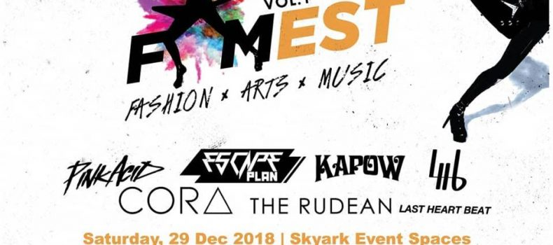 FASION,ARTS & MUSIC FEST DI SKYARK EVENT SPACE