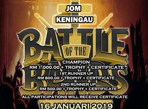 KENINGAU ANJUR BATTLE OF THE BAND BULAN DEPAN