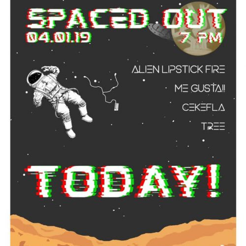 #GIG: SPACE OUT BLACKBOX SURIA SABAH
