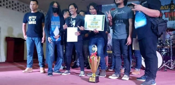 OTP BAND JUARA PENTAS BATTLE DI KUDAT